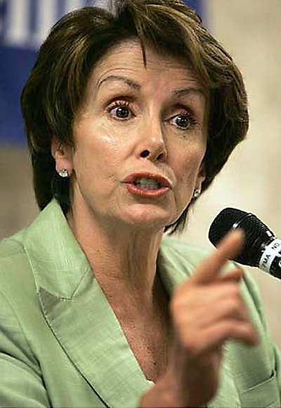 Nancy Pelosi, House Minority Leader
