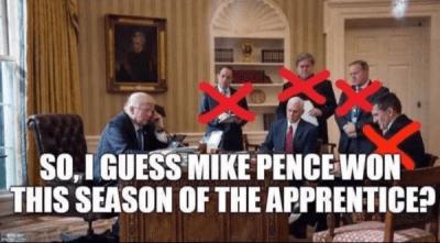 Mike Pence Won