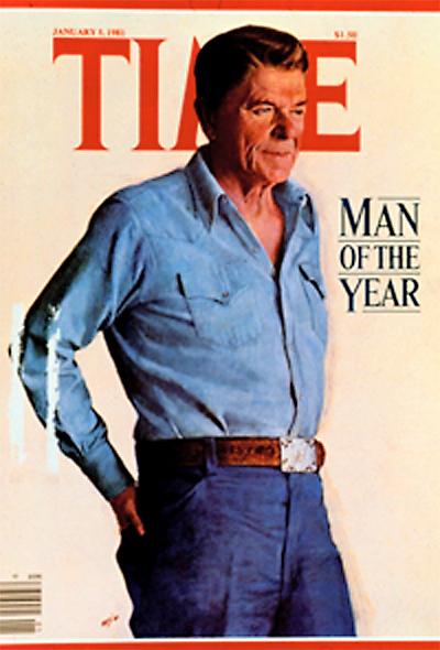 Reagan in Time Magazine