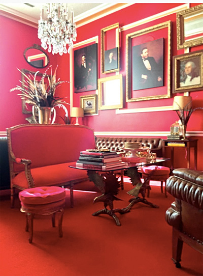 "Schock's ""Downton Abbey"" office"