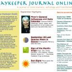 Daykeeper Journal astrology consciousness and transformation, September 2000