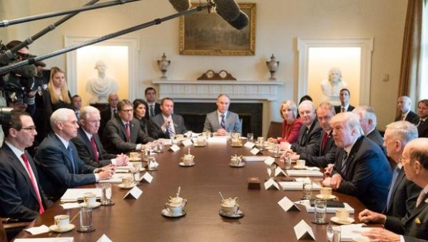 Sycophant cabinet