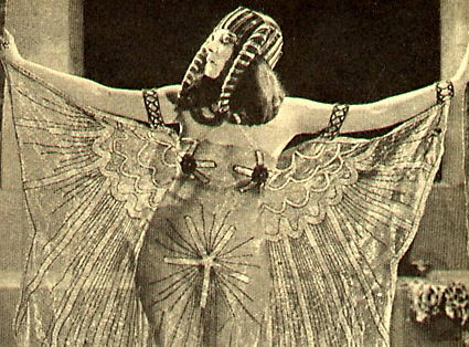 "Theda Bara, ""the Vamp"" America's first cinematic sex symbol—Lust in Scorpio"