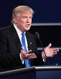 Trump at debate