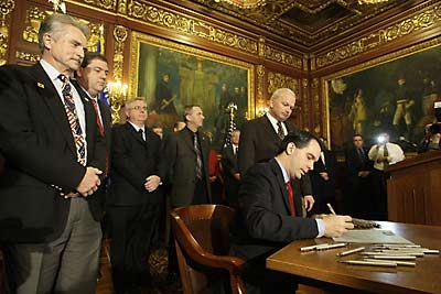 Walker signs bill