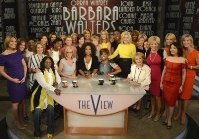 The View, Barbara Walters retirement
