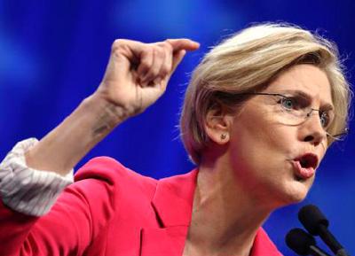 Elizabeth Warren speaking truth to power