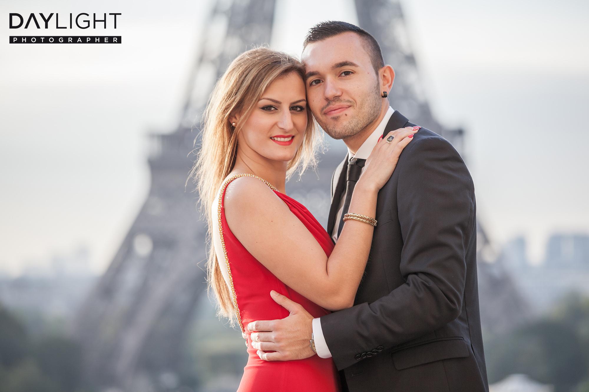 Flitterwochen in Paris  Fotoshooting ganz im Zeichen der