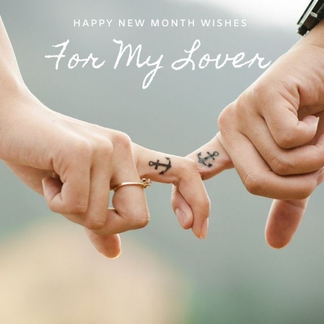 Happy New Month Wishes for Lover
