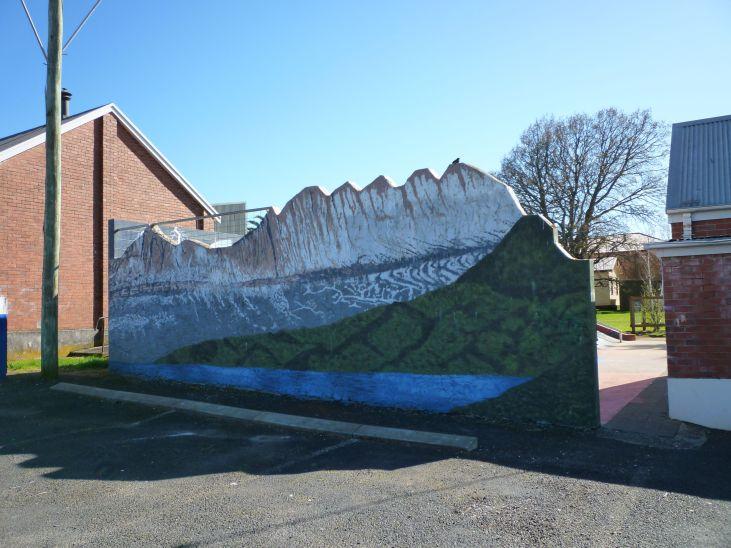 Cradle Mountain mural