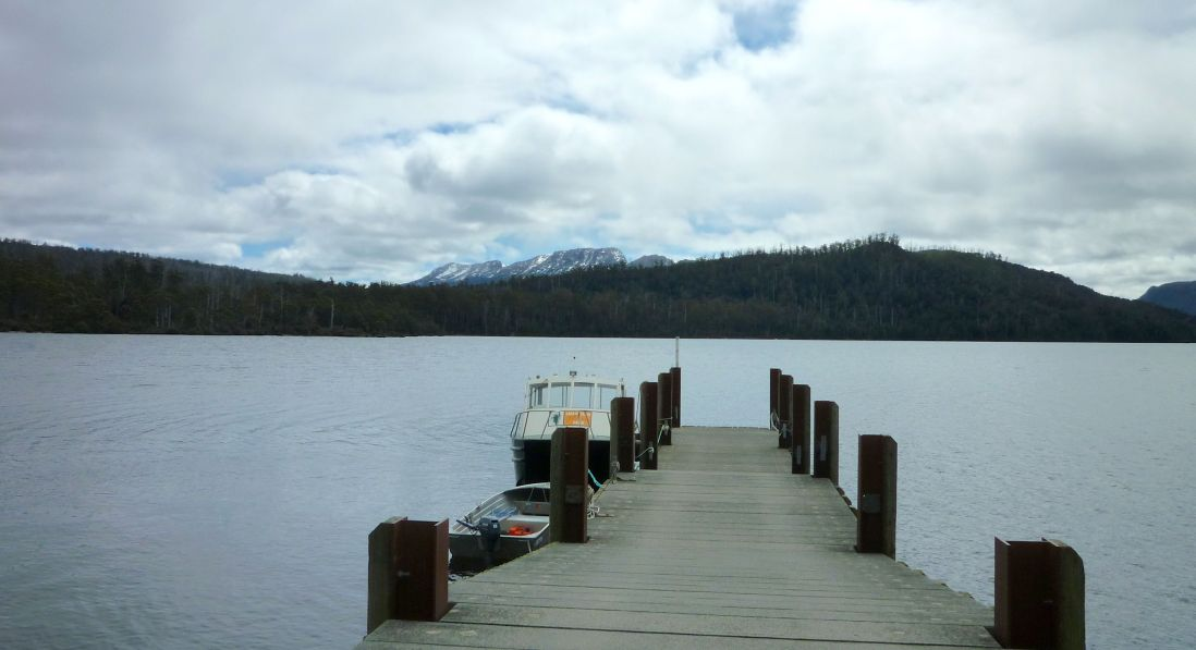 End of the Overland Track if you catch the ferry across the lake