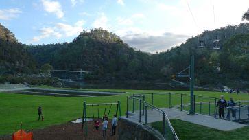 First Basin & chair life, Cataract Gorge