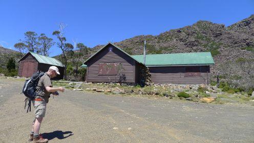 Scout Huts - start of walk