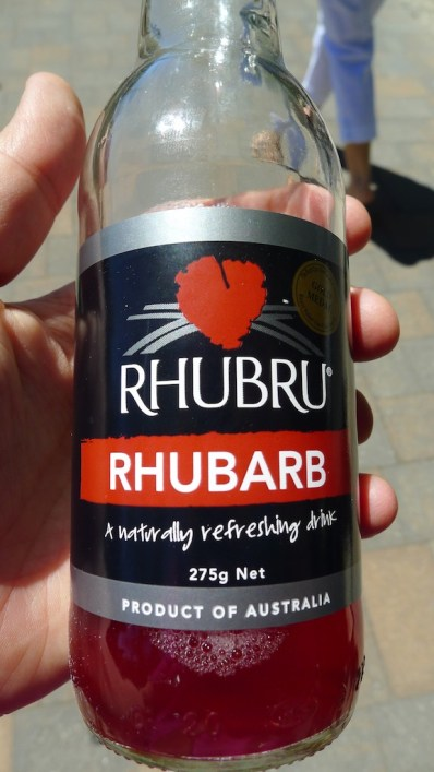 Taste of Harndorf has Rhubru? This is from Tassie... Looks like they've changed their label.