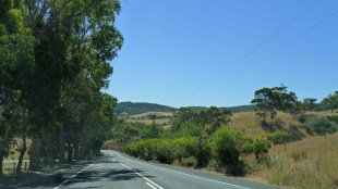 Mt Lofty scenic drive