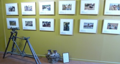 RMW Museum - A pedal-powered grinder, boots with a story to tell & photos of outback life