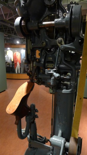 RMW Museum - this machine screws the soles on