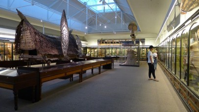 Pacific Island Cultures display
