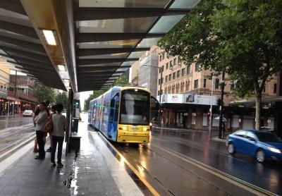 An Adelaide Tram