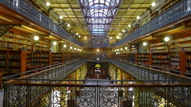 The Mortlock Wing from the first floor