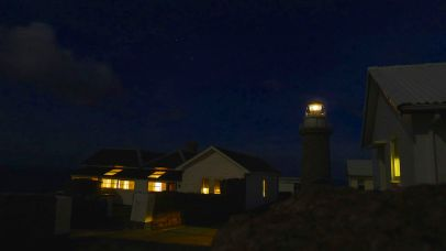 The lightstation at night