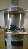Gas oven & stovetop
