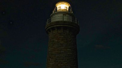 Approaching it's 155th anniversary, the lighthouse shines on