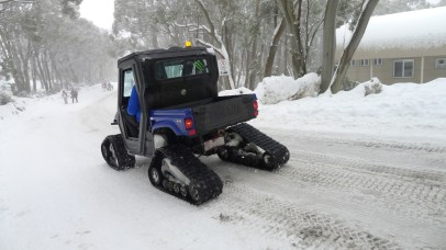 Now this is how to get around the village!