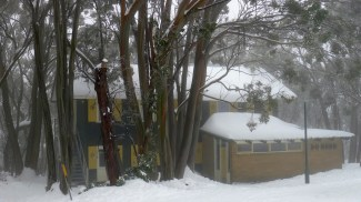 One of the ski lodges