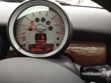 The MINI confirms it's officially freezing outside