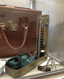 Dr Blake's blood pressure measuring kit & other tools