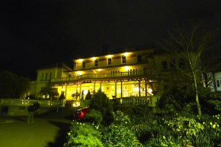 Carrington Hotel at night