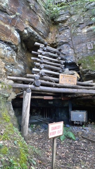 Katoomba Coal Mine, display at Scenic World