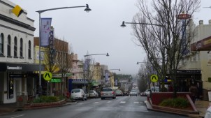 Katoomba Street (the main shopping street), Katoomba