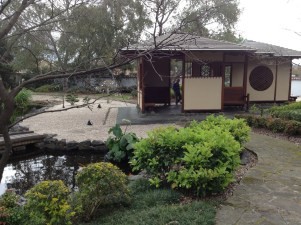 Shelter in Japanese Gardens