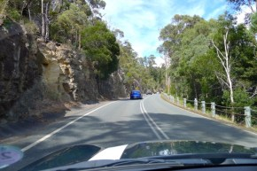 Convoy - We weren't the only ones thinking it was a nice day to visit Mt Field National Park