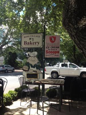 Ross Village Bakery - a good place to stop for a food or just a break in the drive