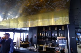 The bar in the Posh Pit