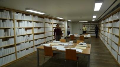 Untitled (White Library) with people - MONA, Hobart, Tasmania