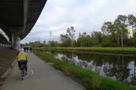 Better weather means more cyclists on the trail