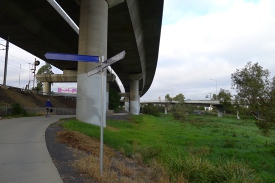Following Railway Canal under Citylink, we get to see plenty that motorists miss