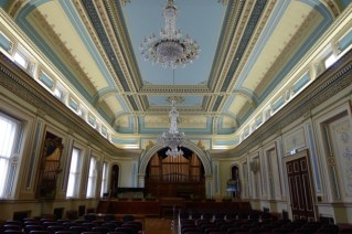 The ballroom at Hobart City's Town Hall is just stunning!