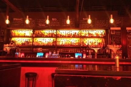 The bar in BarCelona was quite impressive - Salamanca Place, Hobart, Tasmania, June 2015
