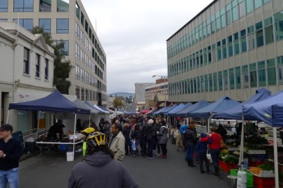 The Farm Gate Market on Bathurst St is packed with fresh produce and freshly cooked or home-made food