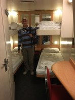 Four bed cabin on Deck 7