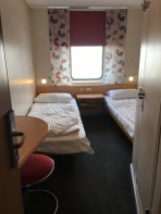 New soft furnishings in the cabins - Twin porthole cabin, Deck 7