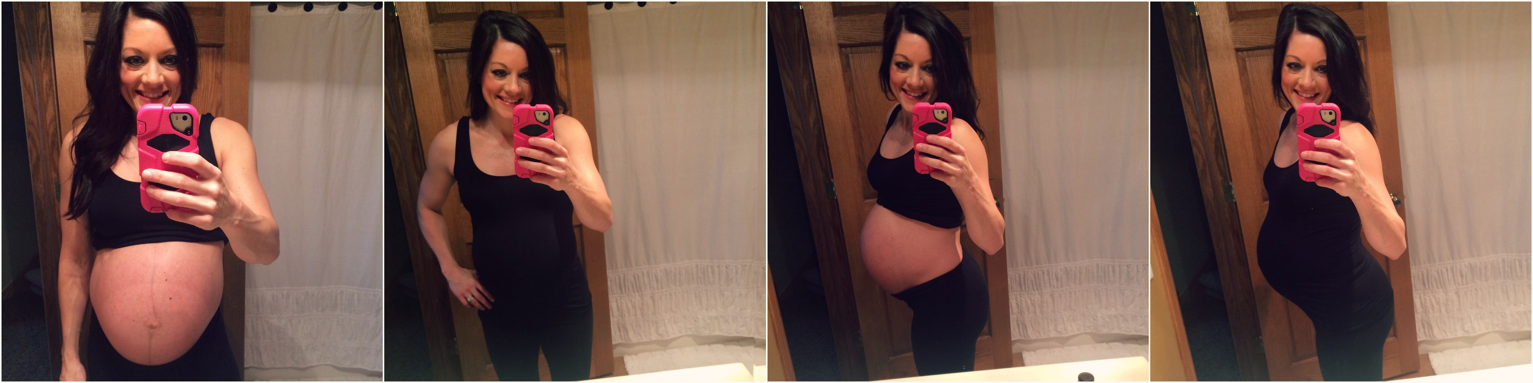 39 Weeks Pregnant - Dayna Deters Determined Fitness