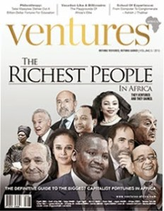 Top 10 Richest People in Africa 2013