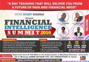FINANCIAL INTELLIGENCE SUMMIT 2016.