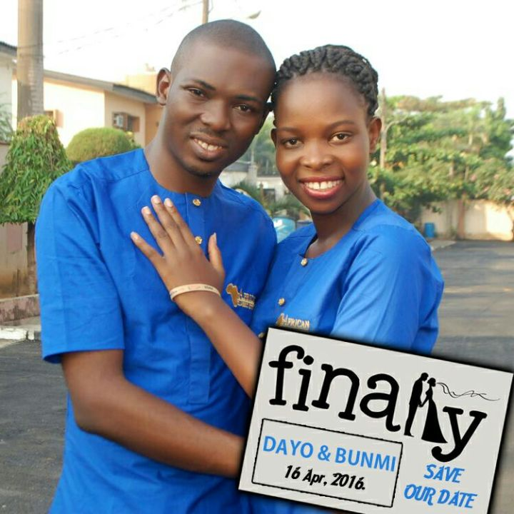 Dayo Adetiloye Wedding Invitation